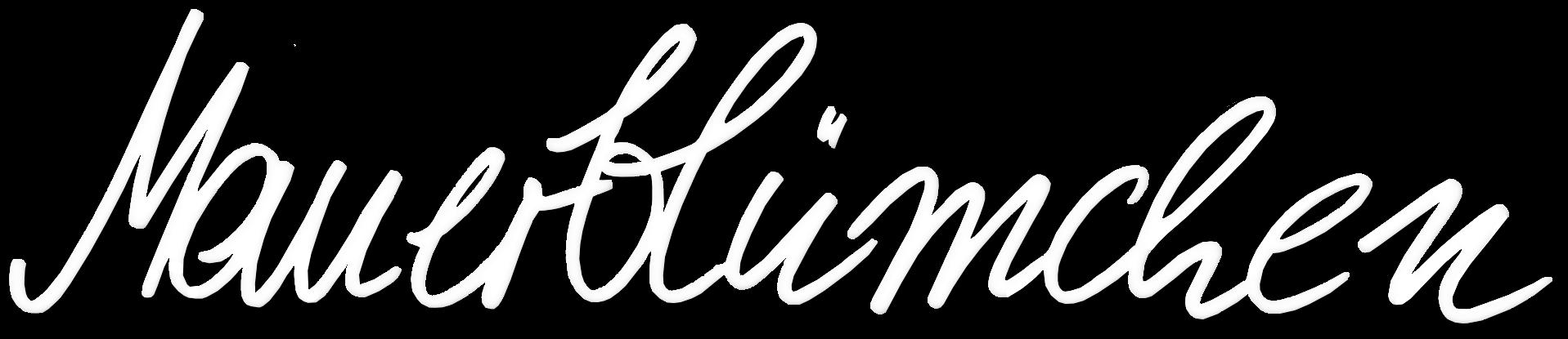Mauerblümchen Logo - Partner von Art of Spring